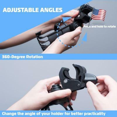 Multi-purpose Drink Bottle Cup Holder For Baby Stroller Bike Scooter Wheelchairs