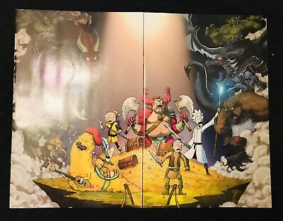 Rick And Morty Vs. Dungeons & Dragons #1 Connecting Cover Set IDW Oni Press NYCC