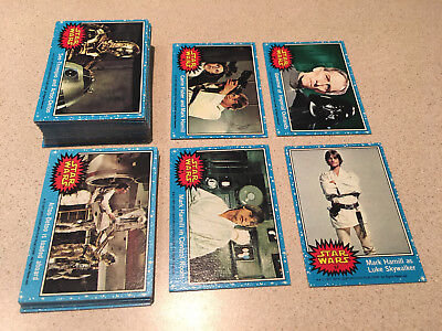 1977 Blue Star Wars Lot of 70 ( 51 Different )