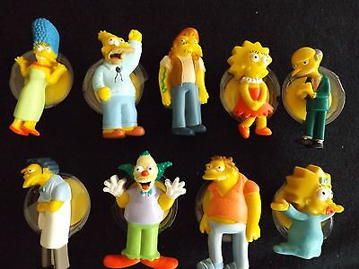 2009 The Simpsons 20 Years  STICK EMS  - 9  Toys Marge, Lisa, Mr Burns, Maggie,