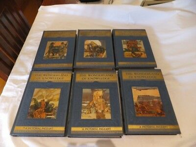 The Wonderland of Knowledge – A pictorial Pageant- 1946 Encyclopedia's set