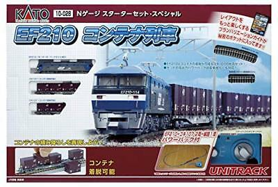 Kato N Scale 10-028 Starter Set EF 210 Conta From japan