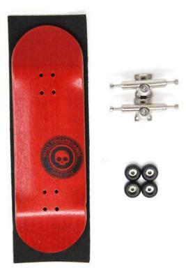 Skull Fingerboards Wooden Complete Setup 30mm Red Or Green Or Yellow