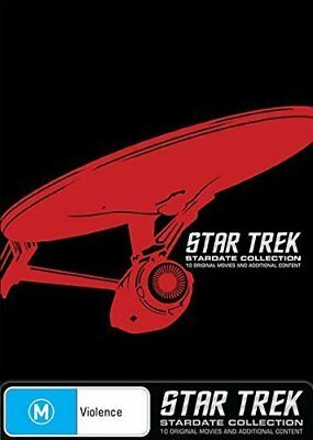 STAR TREK 1979 - 2002 - MOVIES 1-10  STARDATE COLLECTION Complete AU Rg4 DVD