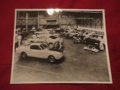 1965 Shelby Cobra GT-350 Mustang Shop Factory Photo