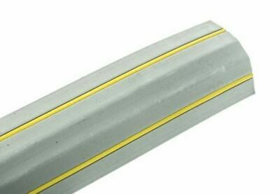Vulcascot Cable Cover, 14 x 8mm (Inside dia.), 68 mm x 3m, Grey/Yellow