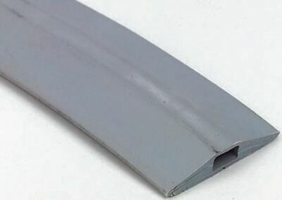 Vulcascot Cable Cover, 14 x 8mm (Inside dia.), 68 mm x 9m, Grey