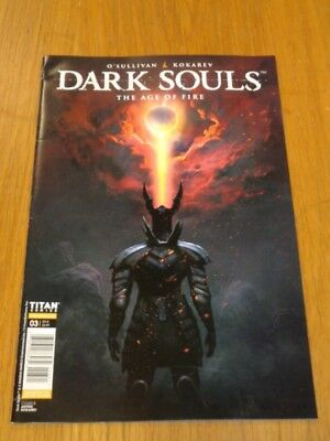 Dark Souls Age Of Fire #3 Titan Comics Cover B August 2018