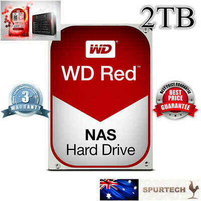 "New OEM Western Digital WD Red 3.5"" 2TB NAS Internal Hard Drive"