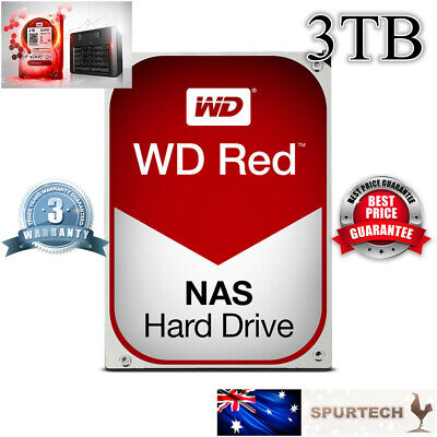 "New OEM Western Digital WD Red 3.5"" 3TB NAS Internal Hard Drive"