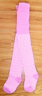 New Girls Next Tights 2-3 Yr Lilac Polka Dot Party Pink Spotty Top T-Shirt Coat