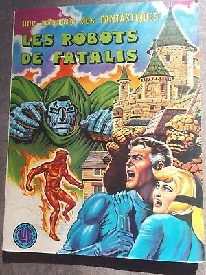 BD Comics Marvel Les robots de Fatalis collection edition LUG Super Heros 1976