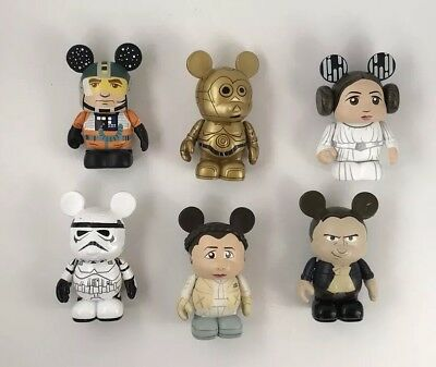 Disney Star Wars Series 1 Vinylmation Mickey Mouse Set