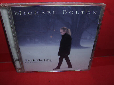 this is the time the christmas album by michael bolton cd sep - Michael Bolton Christmas