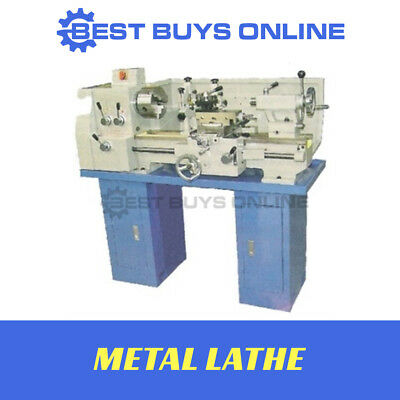"""New METAL LATHE 18""""x10"""" 450 x 250 Metric & Inch Thread Cutting-no Stand included"""