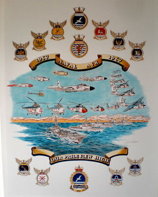Canadian Naval Aviation history poster