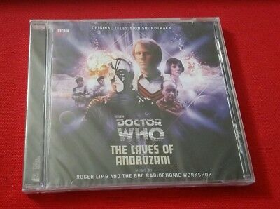 Doctor Who - The Caves of Androzani CD New Sealed BBC TV Soundtrack Roger Limb