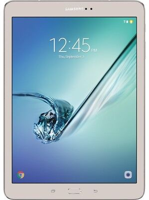 """Samsung Galaxy Tab S2, Octa-core, Android, 9.7"""" Tablet, WiFi, 32GB, SM-T813 Gold"""