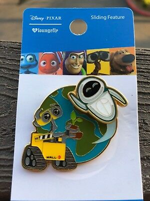 Disney Pixar Wall-E Eve Earth Pin Loungefly BoxLunch Exclusive
