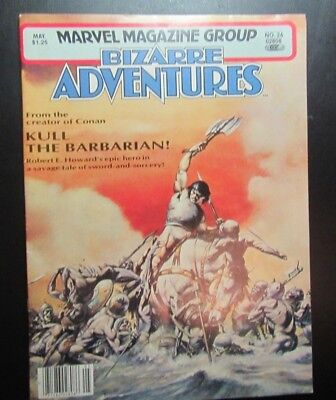 "Marvel Magazine Group ""Bizarre Adventures"" May 1981 Vol. #1 #26"