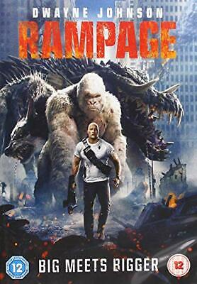 Rampage [DVD] [2018] - DVD  WSVG The Cheap Fast Free Post