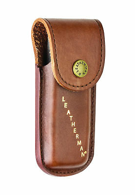 Leatherman Leather Case Sheath Pouch for Rebar / Sidekick / Wingman / Rev - Brow