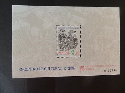 Macau Macao 1999 Portuguese Chinese Cultural Mix MS MS1136 MNH UM unmounted mint