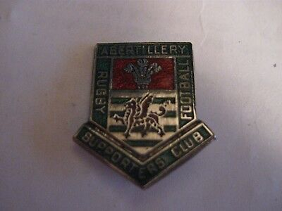 Rare Old Abertillery Rugby Union Football Club Enamel Brooch Pin Badge