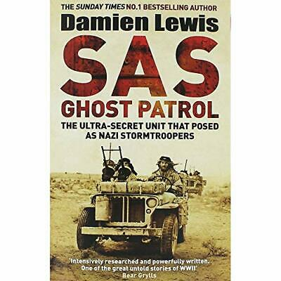Damien Lewis SAS Ghost Patrol Book The Cheap Fast Free Post