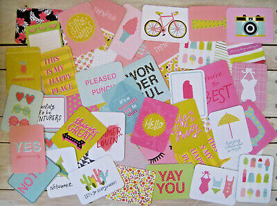 "'honey' Project Life Cards By Becky Higgins - 3"" X 4"" - 50 Cards"