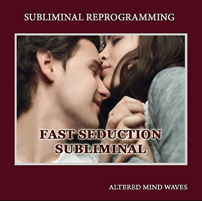 Fast Seduction Subliminal Hypnosis CD – (for men) Attract and Seduce Women