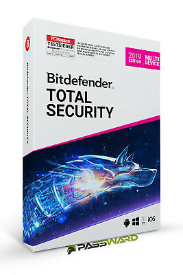 Bitdefender Total Security 2019 Multi-Device Upgrade von Version 2018