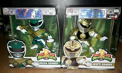 "JADA 4/"" metalli POWER RANGERS RANGER VERDE Tommy Diecast Action Figure mmpr"