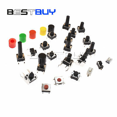 SMD/DIP Tactile Push Switch Through Hole 3X6X2.5mm-6X6X17mm Right Angle 2-5p BBC