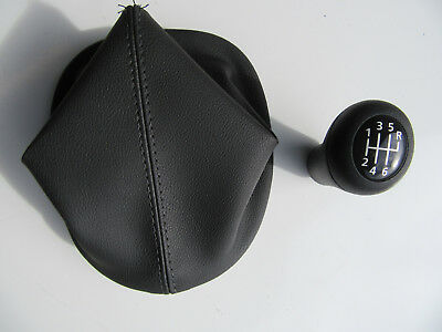 GEAR KNOB AND BOOT LEATHER Manual 6 Speed 5.7 V8 LS1 VT VX VU HOLDEN GENUINE NEW
