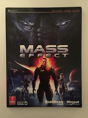 Mass Effect 1 Prima Game Official Strategy Guide Book