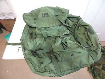 New Vintage Army Large Od Green Alice Field Training Ruck Sack Pack