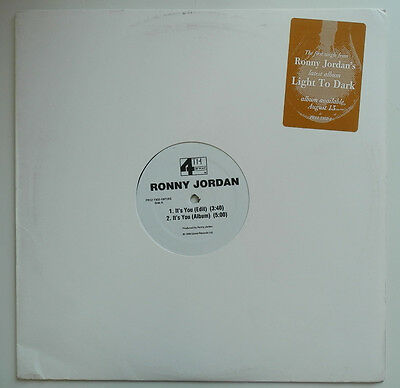 "12"" Us**ronny Jordan - It's You (4Th B'way '96)***17237"