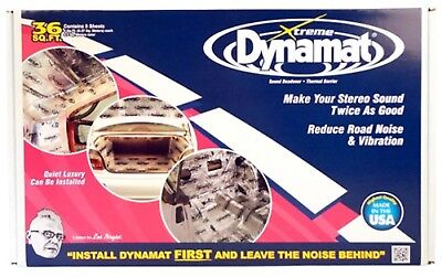 Dynamat Extreme Sound Barrier Bulk Pack 18x32 in 9 pc P/N 10455
