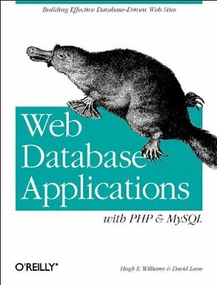 Web Database Applications with PHP, and MySQL by David Lane Paperback Book The