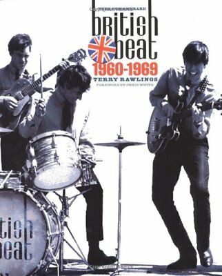Then Now and Rare: British Beat 1960 - 1969 by Terry Rawlings Paperback Book The