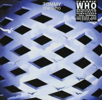 The Who - Tommy - The Who CD 21VG The Cheap Fast Free Post The Cheap Fast Free