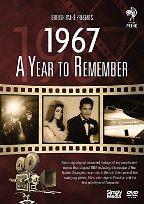 British Path� News - A Year to Remember 1967 [DVD] - DVD  P8VG The Cheap Fast