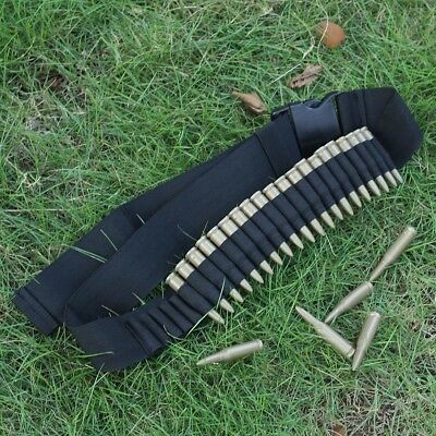 Airsoft 25 Shell Rifle Bullet Ammo Bandolier Cartridge Belt Holder for 308 cal.