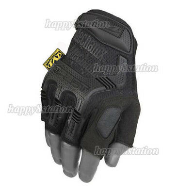 NEW Fingerless Mechanix M-PACT Tactical Gloves Military Race Sport Army Mechanic