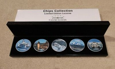 Chip collection limited edition Lucerne grand casino lucern