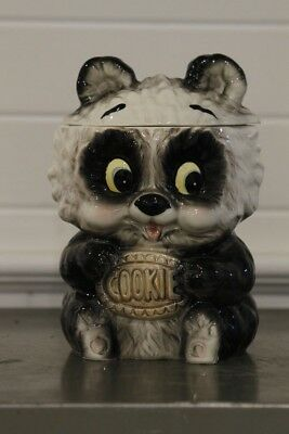 Old Japanese Panda Cookie Jar (Antique Collectible)