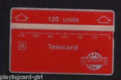 Phonecard early RARE Telephone card Antelco Mint #298
