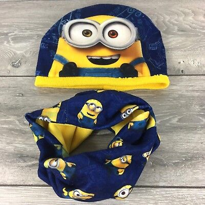 Official Despicable Minions 3 Piece Winter Accessory Set Infant 2-3 Yrs R631-3