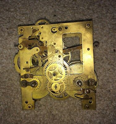 A Gustav Becker P64 Springer Movement For Spares
